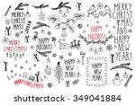 hand drawn doodle vector...   Shutterstock .eps vector #349041884