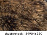 texture of fur - fox - high resolution - stock photo
