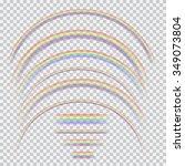 vector set of different... | Shutterstock .eps vector #349073804