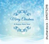 christmas background | Shutterstock .eps vector #349075298