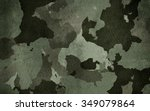dirty camouflage for background | Shutterstock . vector #349079864
