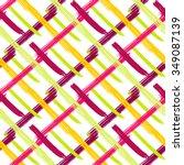 brushstrokes seamless bold... | Shutterstock .eps vector #349087139