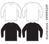 vector illustration of black... | Shutterstock .eps vector #349094249