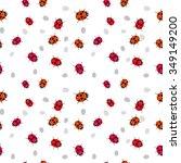 Ladybug Seamless Pattern....