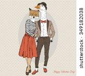 Fashion Couple Of Foxy Girl An...