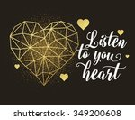 valentines day love greeting... | Shutterstock .eps vector #349200608