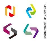 design vector ribbon logo...