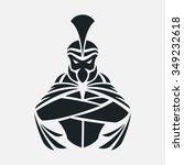 spartan logo | Shutterstock .eps vector #349232618