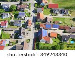 Town In Germany  Aerial...