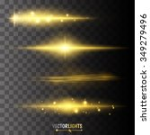 abstract image of lighting... | Shutterstock .eps vector #349279496