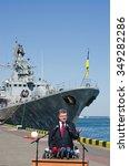 odessa  ukraine     10 april  ... | Shutterstock . vector #349282286
