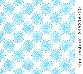 winter seamless geometric...   Shutterstock .eps vector #349316750