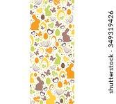 lovely easter design | Shutterstock .eps vector #349319426