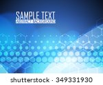 blue abstract background...   Shutterstock .eps vector #349331930