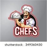 chef | Shutterstock .eps vector #349360430