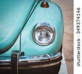 Close Up Of Headlight  Vintage...