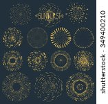 hand drawn pattern textures...   Shutterstock .eps vector #349400210