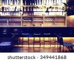 Interior Of A Modern Pub Or Ba...