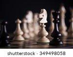 Chess. White Pawns Vs Black On...