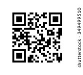 qr code icon | Shutterstock .eps vector #349499510