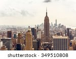 new york  usa   august 12  2013 ... | Shutterstock . vector #349510808