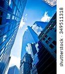 buildings in new york city ... | Shutterstock . vector #349511318