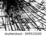 broken glass texture | Shutterstock . vector #349513100