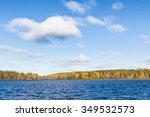 Lake Landscape Autumn Colors...