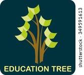 education for all   concept for ... | Shutterstock .eps vector #349591613