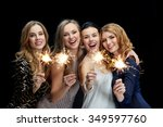 party  holidays  nightlife and... | Shutterstock . vector #349597760