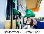 object  fuel  oil  tank and... | Shutterstock . vector #349598420