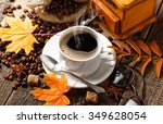 coffee  | Shutterstock . vector #349628054