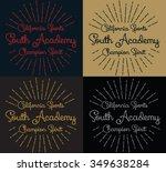 california sports vector print... | Shutterstock .eps vector #349638284