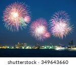 Colorful Holiday Fireworks In...