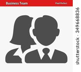 business team icon.... | Shutterstock .eps vector #349668836