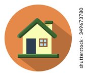 house flat icon | Shutterstock .eps vector #349673780