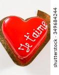 valentine cake | Shutterstock . vector #349684244