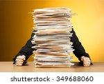 emotional stress. | Shutterstock . vector #349688060