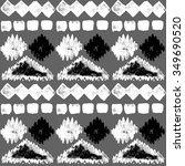 ethnic seamless pattern. ethnic ... | Shutterstock . vector #349690520