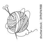 Knitting Line Ball