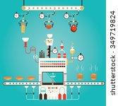 modern vector illustration of... | Shutterstock .eps vector #349719824