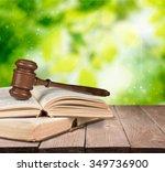 law. | Shutterstock . vector #349736900