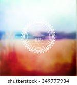 geometric mandala element made...   Shutterstock .eps vector #349777934