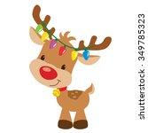 Christmas Reindeer Vector...