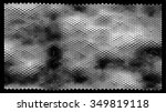 abstract hexagonal pattern on a ... | Shutterstock .eps vector #349819118