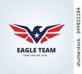 eagle logo | Shutterstock .eps vector #349822184