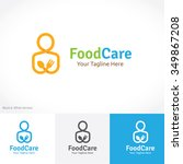 food care logo food logo | Shutterstock .eps vector #349867208
