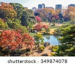 tokyo  japan   dec 9  autumn... | Shutterstock . vector #349874078