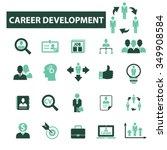 career development  icons ... | Shutterstock .eps vector #349908584