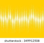 halftone pattern vector | Shutterstock .eps vector #349912508
